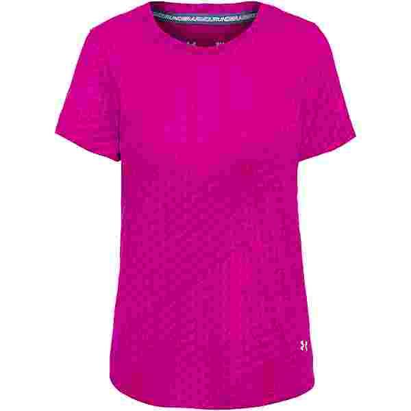 Under Armour Streaker Runclipse Funktionsshirt Damen pink