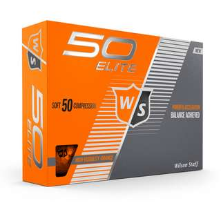 Wilson Staff Fifty Elite Golfball orange