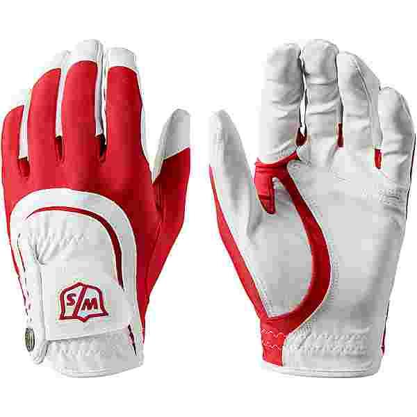 Wilson Staff Fingerhandschuhe Herren red