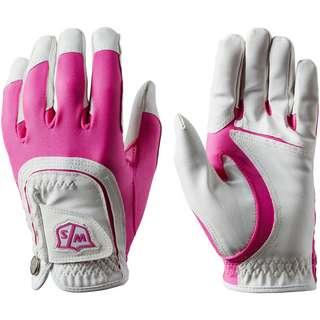 Wilson Staff Fingerhandschuhe Damen pink