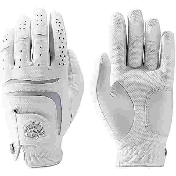 Wilson Staff Grip Plus 3G Pack Fingerhandschuhe Damen weiß