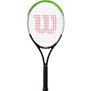 Wilson Blade Feel 26 Tennisschläger Kinder black-electric lime-silver