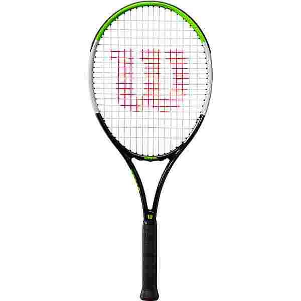 Wilson Blade Feel 26 Tennisschläger Kinder black-electric lime-silver