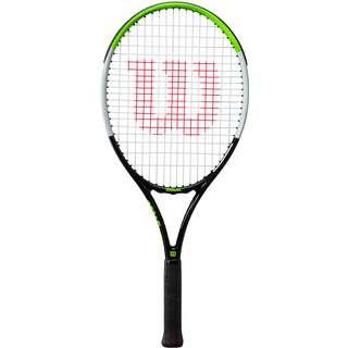 Wilson Blade Feel 25 Tennisschläger Kinder black-electric lime-silver