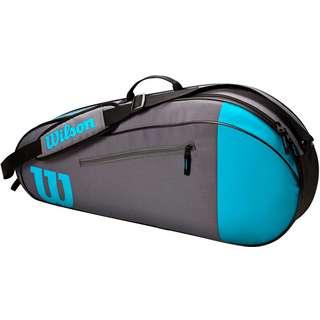 Wilson TEAM 3PK Tennistasche blue-grey