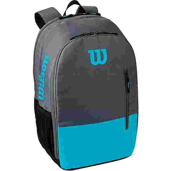Wilson TEAM Tennisrucksack blue-grey