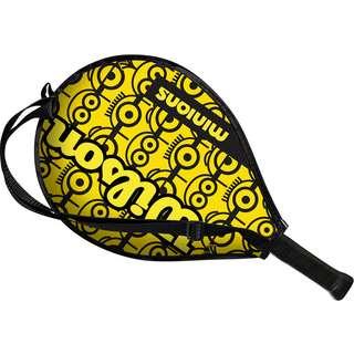 Wilson MINIONS 17 Tennisschläger Kinder yellow-black-black