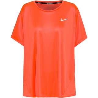 Nike PLUS SIZE Funktionsshirt Damen bright mango-reflective silv
