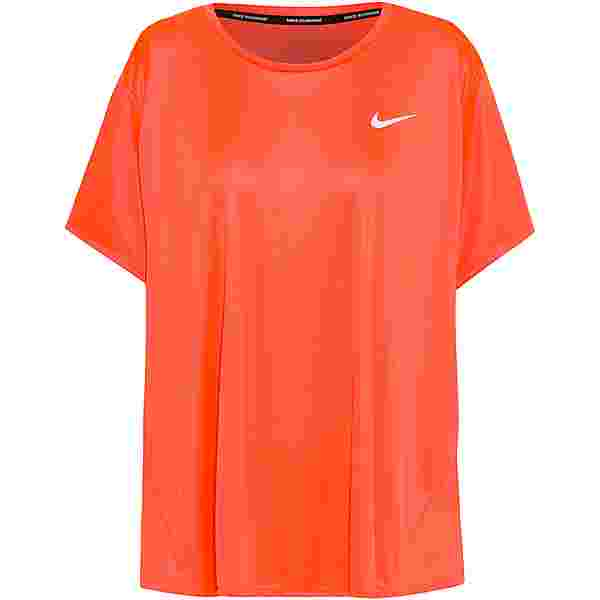 Nike PLUS SIZE Funktionsshirt Damen bright mango-reflective silv