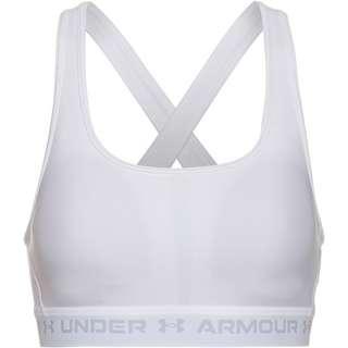 Under Armour Crossback Mid BH Damen white
