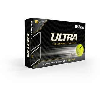 Wilson Ultra Ultimate 15 BPK Golfball gelb