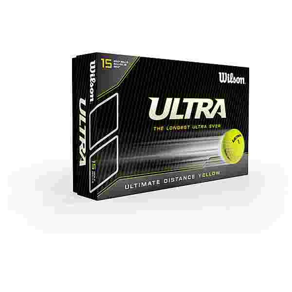 Wilson Ultra Ultimate 15 BPK Golfball gelb