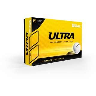 Wilson Ultra Ultimate 15 BPK Golfball weiß