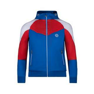 BIDI BADU Blake Tech Windbreaker Funktionsjacke Kinder blau/rot