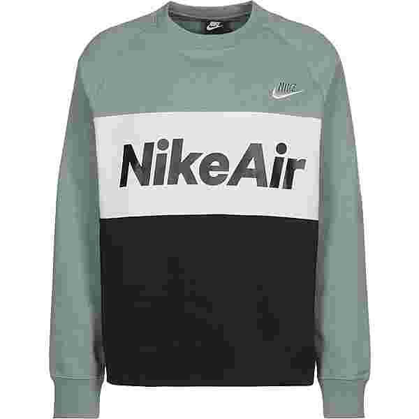 Nike Air Sweatshirt Herren grün/schwarz/weiß