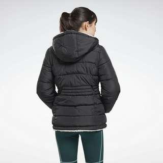 Reebok Reversible Puffer Jacket Outdoorjacke Damen Schwarz