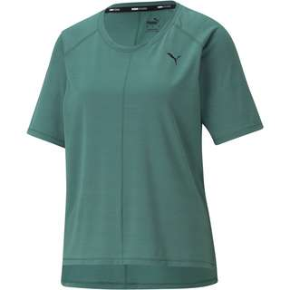 PUMA STUDIO GRAPHENE RELAXED Funktionsshirt Damen blue spruce
