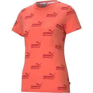 PUMA Amplified T-Shirt Damen georgia peach