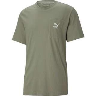 PUMA Classics T-Shirt Herren vetiver