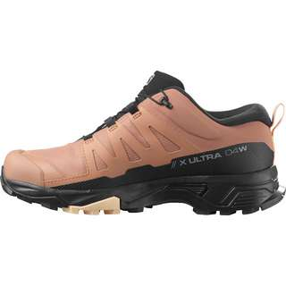 Salomon GTX X ULTRA 4 Wanderschuhe Damen mocha mousse-black-almond cream