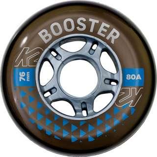 K2 BOOSTER 76MM 80A 8-WHEEL PACK W ILQ 5 Inliner-Rollen schwarz-grau
