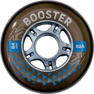 K2 BOOSTER 84 MM 82A 8-WHEEL PACK W ILQ 7 Inline-Skates schwarz-grau