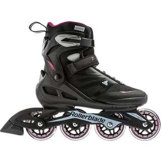 ROLLERBLADE SPIRITBLADE W Inline-Skates Damen black-red-light blue