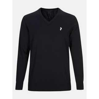 Peak Performance Classic V-Pullover Herren black