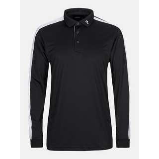 Peak Performance Player Pololangarmshirt Herren black