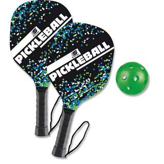 Sunflex PICKLE BALL Set Funball schwarz-orange