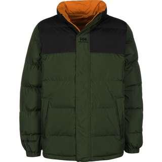 HELLY HANSEN Yu Puffer Winterjacke Herren grün/orange