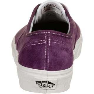Vans Authentic Pig Suede Sneaker lila