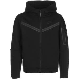 Nike Sportswear Tech Fleece Sweatjacke Kinder schwarz