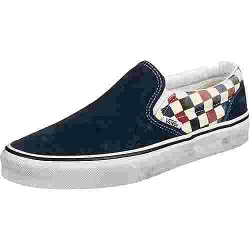 Vans Slip-On Slipper (Washed) blue/chili pepper
