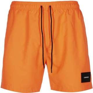 Calvin Klein Medium Drawstring Boardshorts Herren orange/schwarz