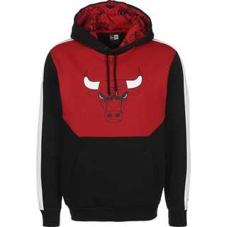 New Era NBA Colour Black Chicago Bulls Hoodie Herren schwarz/rot