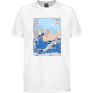 iriedaily Trash Wave T-Shirt Herren weiß