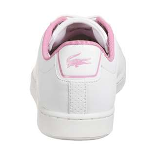 Lacoste Canaby Evo 120 Sneaker Kinder weiß / pink