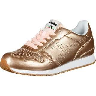Diadora Titan Metallic W Sneaker Damen gold/pink