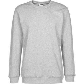 Urban Classics Organic Basic Crew Sweatshirt Herren grau/meliert