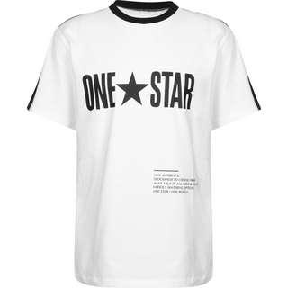 CONVERSE One Star Panel T-Shirt Herren weiß