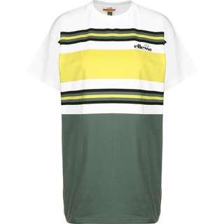 Ellesse Gina W T-Shirt Damen grün/weiß/gestreift