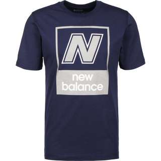 NEW BALANCE MT91583 T-Shirt Herren blau