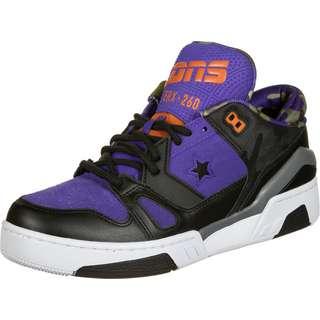 CONVERSE ERX 260 Camo and Leather Ox Sneaker Herren schwarz/lila
