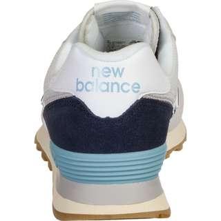 NEW BALANCE 574 Sneaker Herren weiß/grau