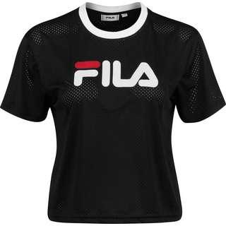 FILA Michelle Cropped W T-Shirt Damen schwarz