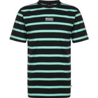 iriedaily Bro Stripe T-Shirt Herren blau/türkis/gestreift