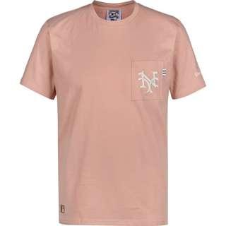 New Era MLB Vintage Pocket Logo New York Giants T-Shirt Herren pink