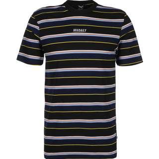 iriedaily Tony Stripe T-Shirt Herren schwarz/blau/gestreift