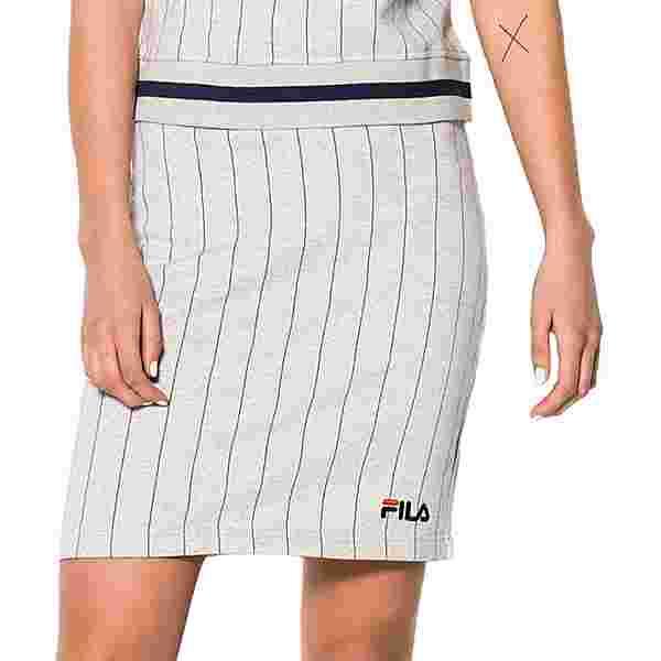 FILA Francesca W A-Linien Rock Damen grau/meliert/gestreift